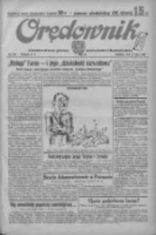 Orędownik: ilustrowane pismo narodowe i katolickie 1934.07.15 R.64 Nr158