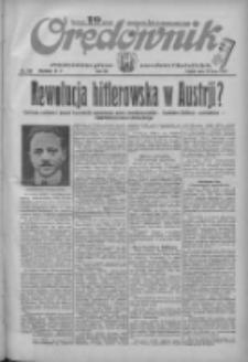 Orędownik: ilustrowane pismo narodowe i katolickie 1934.07.27 R.64 Nr168