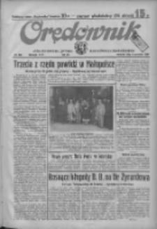 Orędownik: ilustrowane pismo narodowe i katolickie 1934.09.09 R.64 Nr205