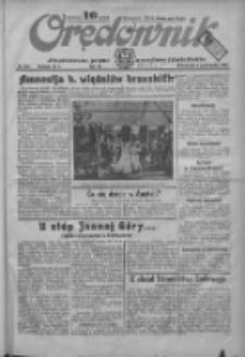 Orędownik: ilustrowane pismo narodowe i katolickie 1934.10.02 R.64 Nr224