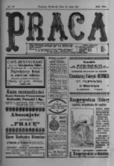 Praca: tygodnik polityczny i literacki, illustrowany. 1915.05.16 R.19 nr20