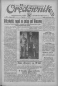 Orędownik: ilustrowane pismo narodowe i katolickie 1934.11.09 R.64 Nr256