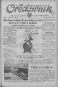 Orędownik: ilustrowane pismo narodowe i katolickie 1934.12.19 R.64 Nr289