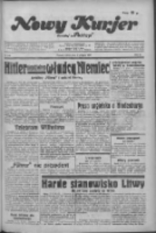Nowy Kurjer 1934.08.04 R.45 Nr176