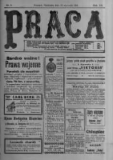 Praca: tygodnik polityczny i literacki, illustrowany. 1916.01.23 R.20 nr4