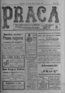 Praca: tygodnik polityczny i literacki, illustrowany. 1916.02.06 R.20 nr6