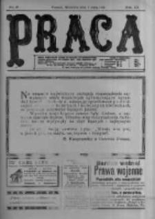 Praca: tygodnik polityczny i literacki, illustrowany. 1916.05.07 R.20 nr19
