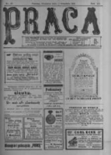 Praca: tygodnik polityczny i literacki, illustrowany. 1916.09.17 R.20 nr38