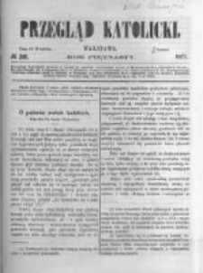 Przegląd Katolicki. 1877.09.20 R.15 nr38