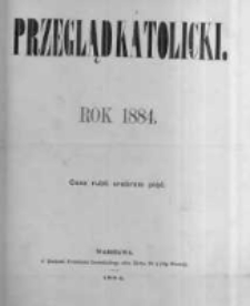 Przegląd Katolicki. 1884.01.03 R.22 nr1
