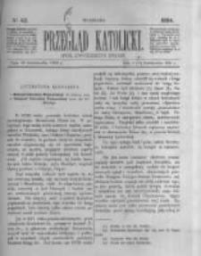 Przegląd Katolicki. 1884.10.16 R.22 nr42