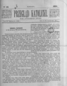 Przegląd Katolicki. 1884.10.30 R.22 nr44