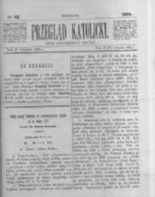 Przegląd Katolicki. 1884.11.27 R.22 nr48