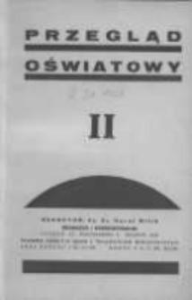 Przegląd Oświatowy: dwumiesięcznik Towarzystwa Czytelni Ludowych z dodatkiem p.n. Poradnik Bibljoteczny 1936 marzec/kwiecień R.30 Nr2