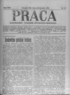 Praca: ilustrowany tygodnik społeczno-narodowy. 1921.10.09 R.25 nr41