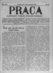 Praca: ilustrowany tygodnik społeczno-narodowy. 1921.11.13 R.25 nr46