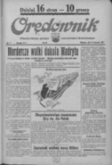Orędownik: ilustrowane pismo narodowe i katolickie 1937.01.10 R.67 Nr7