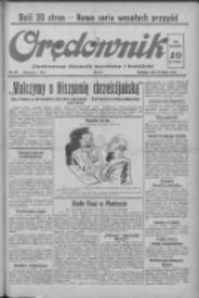 Orędownik: ilustrowany dziennik narodowy i katolicki 1937.02.28 R.67 Nr49