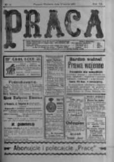 Praca: tygodnik polityczny i literacki, illustrowany. 1916.03.12 R.20 nr11