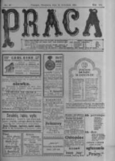 Praca: tygodnik polityczny i literacki, illustrowany. 1916.09.24 R.20 nr39