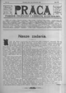 Praca: tygodnik polityczny i literacki, illustrowany. 1916.11.05 R.20 nr45