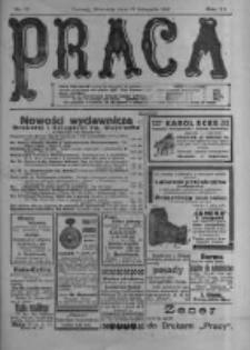Praca: tygodnik polityczny i literacki, illustrowany. 1916.11.19 R.20 nr47