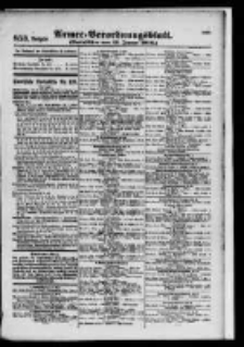 Armee-Verordnungsblatt. Verlustlisten 1916.01.11 Ausgabe 853