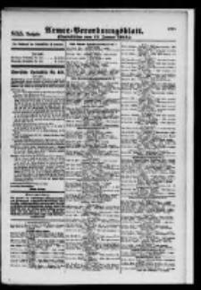 Armee-Verordnungsblatt. Verlustlisten 1916.01.13 Ausgabe 855