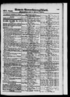 Armee-Verordnungsblatt. Verlustlisten 1916.02.05 Ausgabe 874