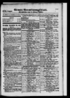 Armee-Verordnungsblatt. Verlustlisten 1916.02.08 Ausgabe 876