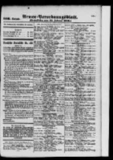 Armee-Verordnungsblatt. Verlustlisten 1916.02.19 Ausgabe 886