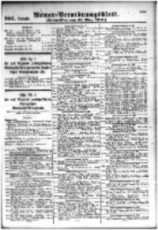 Armee-Verordnungsblatt. Verlustlisten 1916.03.13 Ausgabe 905