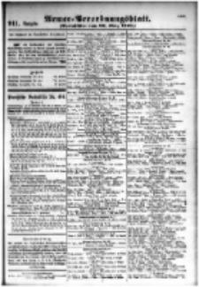 Armee-Verordnungsblatt. Verlustlisten 1916.03.20 Ausgabe 911