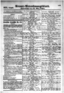 Armee-Verordnungsblatt. Verlustlisten 1916.03.31 Ausgabe 922