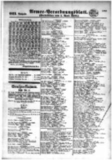 Armee-Verordnungsblatt. Verlustlisten 1916.04.01 Ausgabe 923