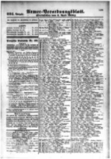 Armee-Verordnungsblatt. Verlustlisten 1916.04.03 Ausgabe 924