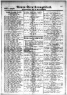 Armee-Verordnungsblatt. Verlustlisten 1916.04.03 Ausgabe 925