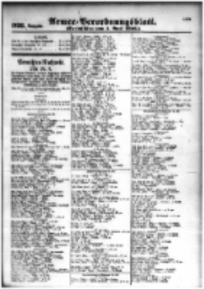 Armee-Verordnungsblatt. Verlustlisten 1916.04.04 Ausgabe 926