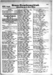 Armee-Verordnungsblatt. Verlustlisten 1916.04.08 Ausgabe 932