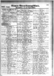 Armee-Verordnungsblatt. Verlustlisten 1916.04.15 Ausgabe 942
