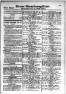 Armee-Verordnungsblatt. Verlustlisten 1916.04.17 Ausgabe 943