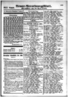 Armee-Verordnungsblatt. Verlustlisten 1916.04.18 Ausgabe 945