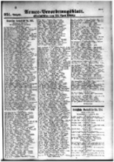Armee-Verordnungsblatt. Verlustlisten 1916.04.22 Ausgabe 950