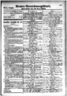 Armee-Verordnungsblatt. Verlustlisten 1916.04.27 Ausgabe 954