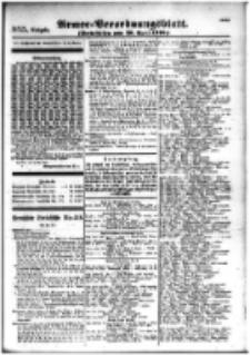 Armee-Verordnungsblatt. Verlustlisten 1916.04.28 Ausgabe 955