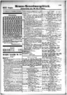 Armee-Verordnungsblatt. Verlustlisten 1916.04.29 Ausgabe 957
