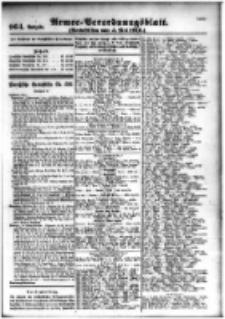 Armee-Verordnungsblatt. Verlustlisten 1916.05.05 Ausgabe 964