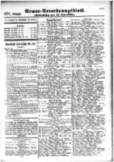 Armee-Verordnungsblatt. Verlustlisten 1916.05.11 Ausgabe 971