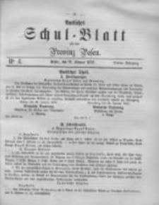 Amtliches Schul-Blatt für die Provinz Posen 1870.02.12 Jg.3 Nr4