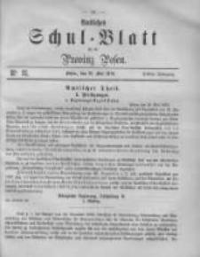 Amtliches Schul-Blatt für die Provinz Posen 1870.05.21 Jg.3 Nr11